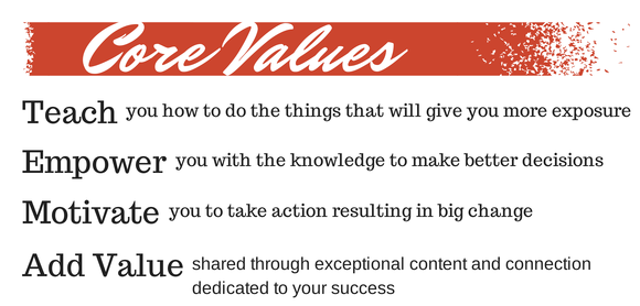 Marketing Dish Core Values