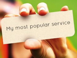 hand-most popular service