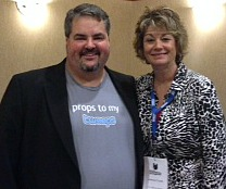 Jason Falls & JoAnne Funch, Social Media Rock Stars Sep. 2013