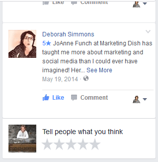 marketing-dish-facebook-reviews