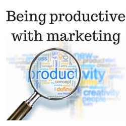 Being productive with marketing